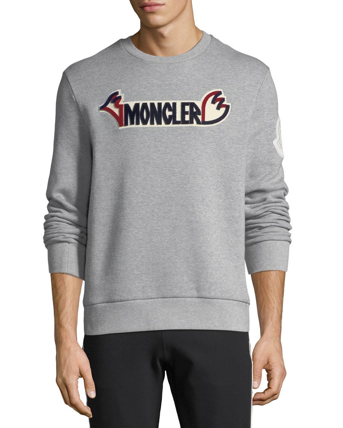 Men's Crewneck Logo Graphic Sweatshirt