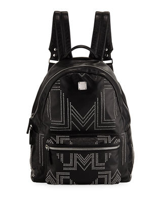 MCM Men's Stark Gunta Medium Studded Backpack