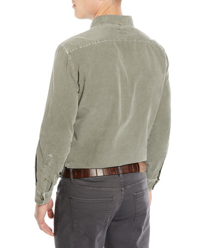 Men's Corduroy Sport Shirt