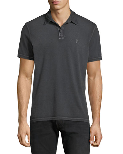 Men's Pigment Rub Peace Polo Shirt