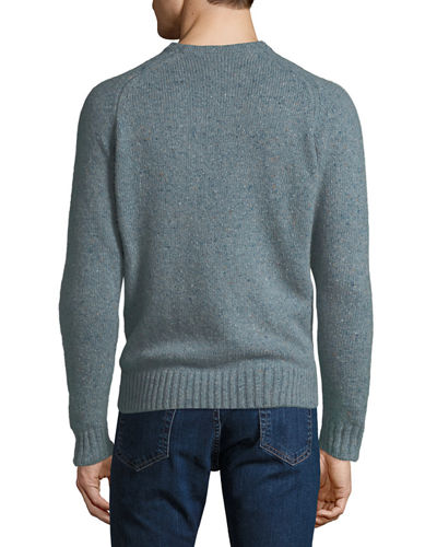 Men's Crown Vintage Saddle Crewneck Sweater