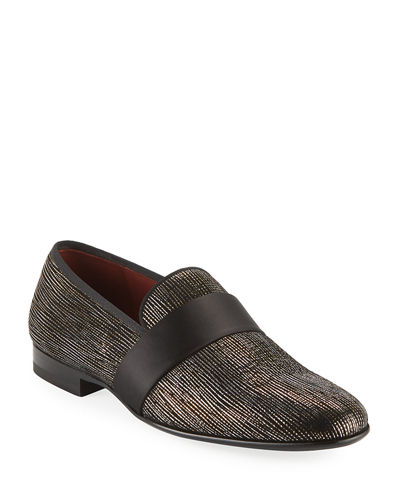Men's Velvet Formal Loafers