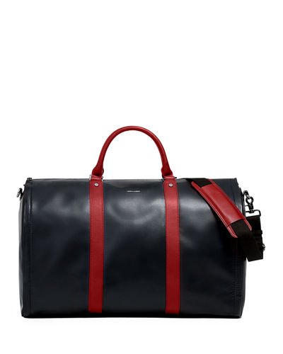 47f8076f824 Quick Look. hook + Albert · Men s Smooth Leather Garment Duffel Bag Carryon  Luggage