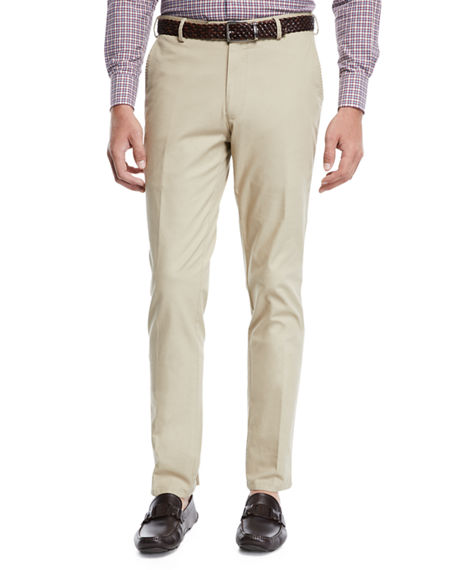 Peter Millar Men's Soft Touch Twill Trousers