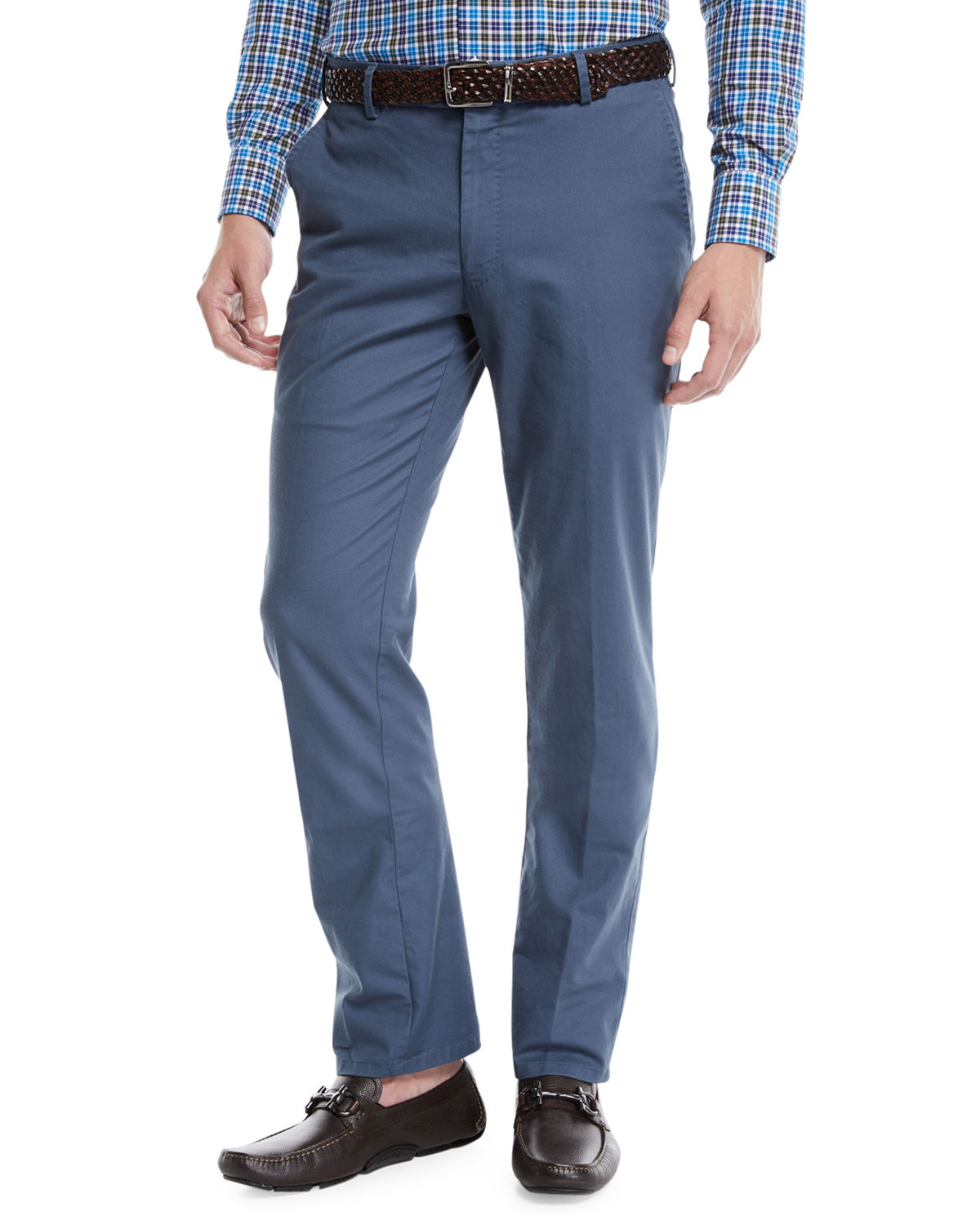 Men's Soft Touch Twill Trousers