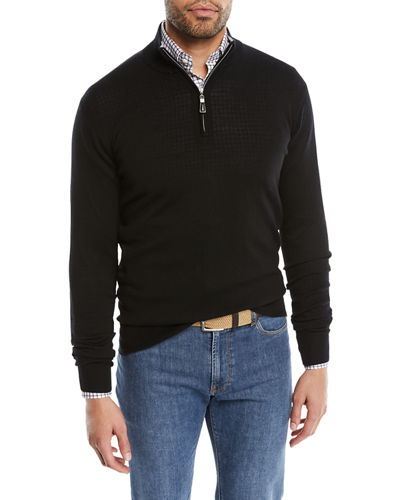 Men's Crown Soft Quarter-Zip Sweater