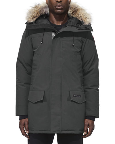 Men's Langford Arctic-Tech Parka Jacket with Fur Hood