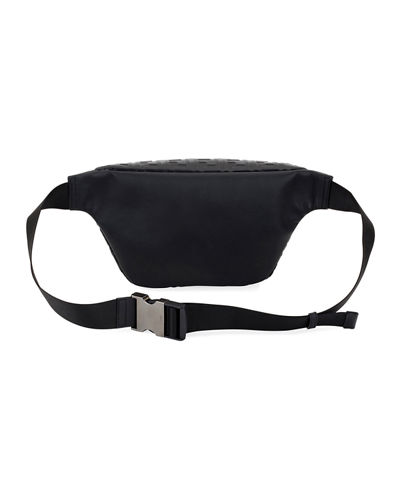 FF Embossed Leather Belt Bag/Fanny Pack