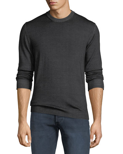 Men's Blakemere Garment-Dyed Wool Sweater