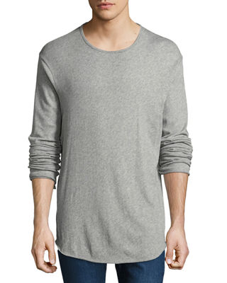 Rag & Bone Men's Hartley Long-Sleeve Linen T-Shirt