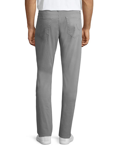 Everett Slim-Straight Twill Pants
