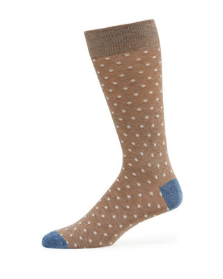 Neiman Marcus Men's Urban Mood Dot Socks