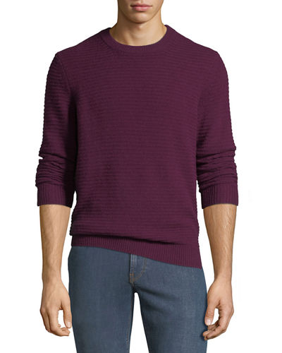 Quick Look. Neiman Marcus · Men s Ribbed Cashmere Pullover Sweater 5fab4e0f0
