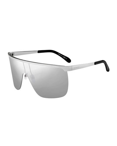 Men's Metal Shield Sunglasses
