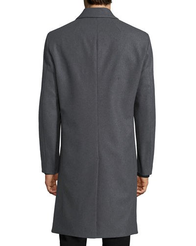 Bower Wool-Blend Top Coat