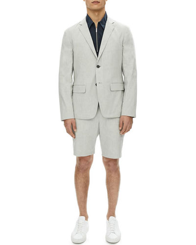 Clinton Urban Stretch-Linen Blazer