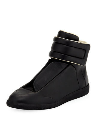 Maison Margiela Future Basic Leather High-Top Sneaker