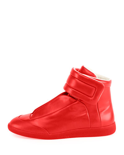 Men's Future Basic Leather High-Top Sneakers