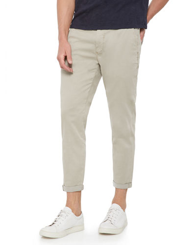 Men's The Soder Slim Cropped Twill Pants