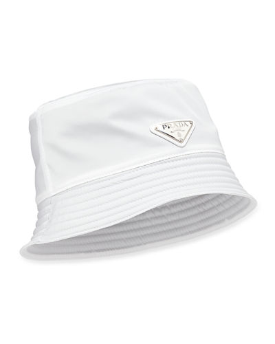 Men's Nylon Bucket Hat with Logo