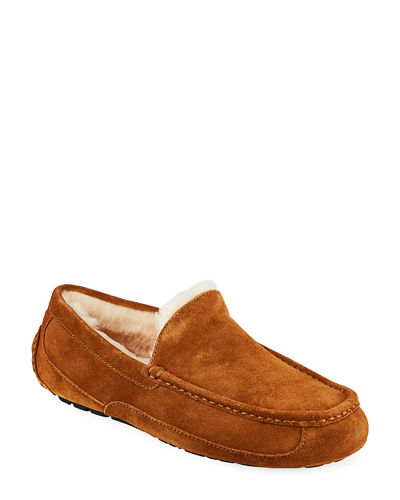 Men's Ascot Suede Slippers