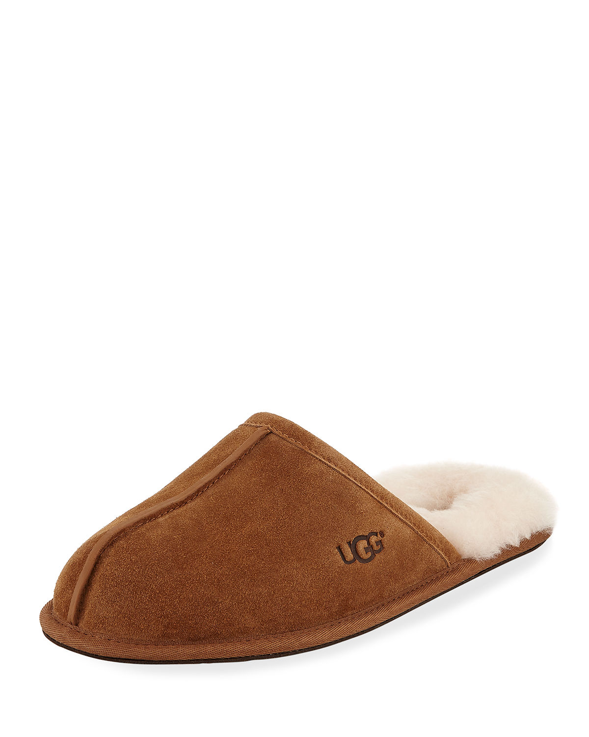 Men S Scuff Shearling Mule Slipper