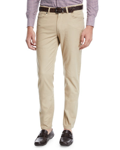 Men's Soft-Touch Twill Pants