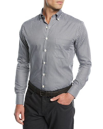 Men's Crown Soft Gingham Dress Shirt