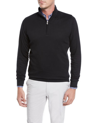 Men's Crown Comfort Half-Zip Sweater