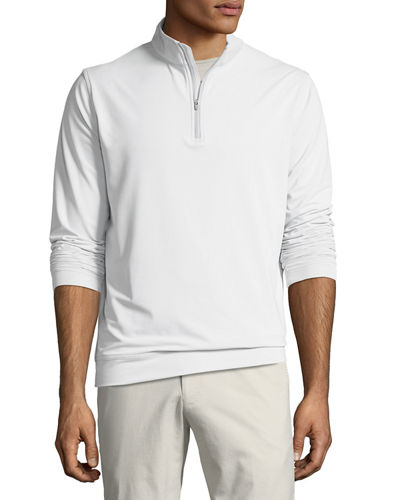 Men's Perth Half-Zip Loop Terry Sweatshirt