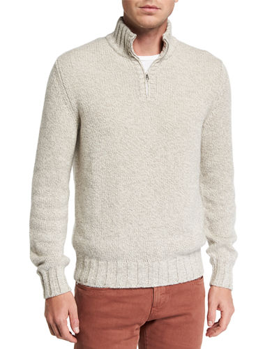 Men's Mezzocollo Eaglecrest Half-Zip Sweater