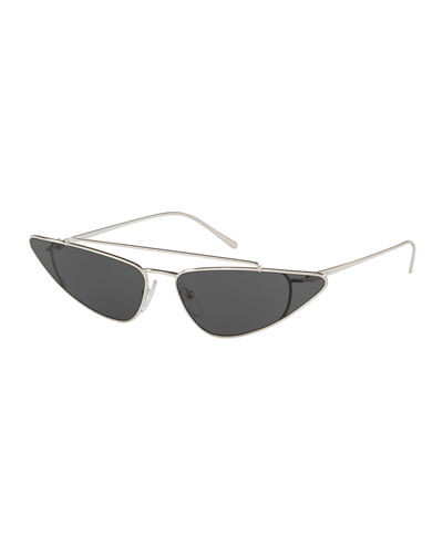 Men's PR63US Slim Metal Aviator Sunglasses
