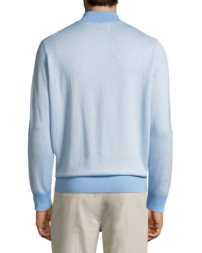 Crown Soft Birdseye Sweater