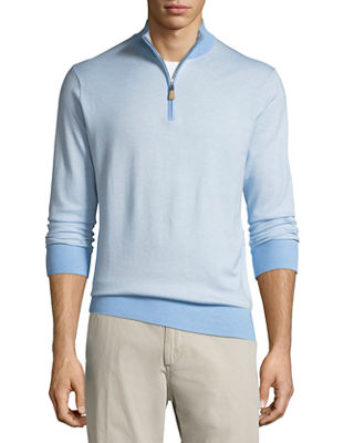 Peter Millar Crown Soft Birdseye Sweater