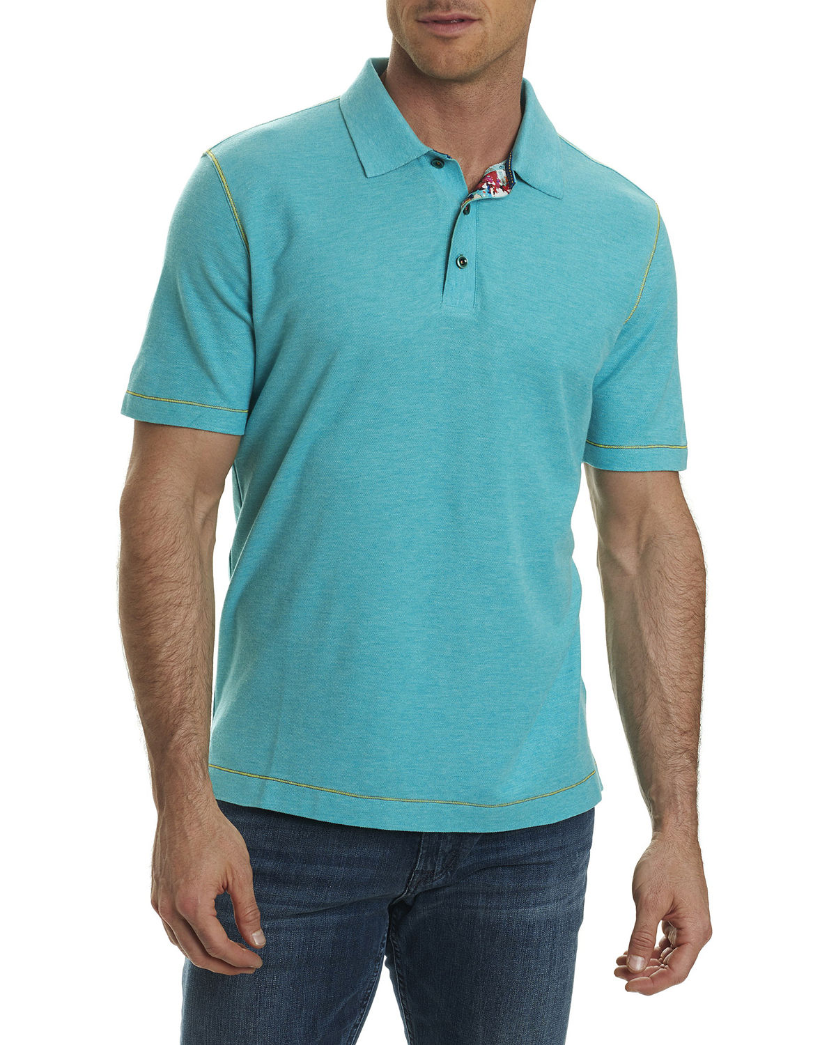 Messenger Heather Polo Shirt