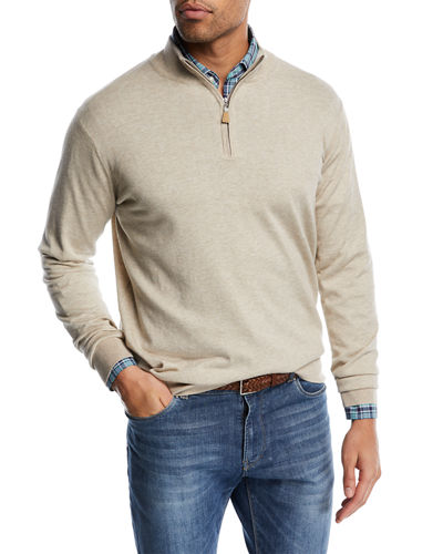 Crown Soft Half-Zip Sweater