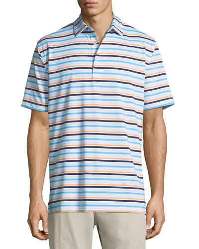 Boylan Striped Polo Shirt