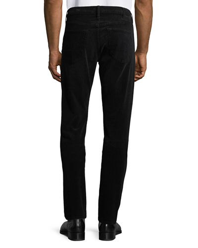 Men's Straight-Fit Stretch-Corduroy Pants
