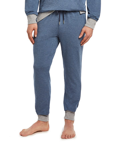 Men's Slim-Fit Heathered Jogger Sweatpants