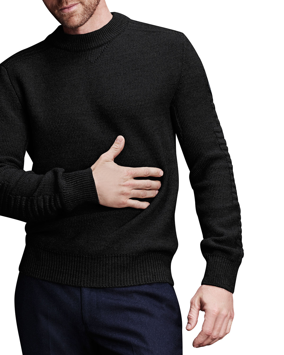 Men's Paterson Heathered Wool Sweater