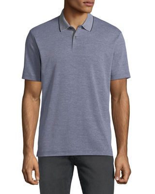 Standard Tipped Regular Fit Polo Shirt - 100% Exclusive, Black/White