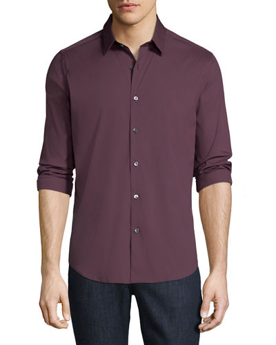 Men's Wealth Sylvain Slim-Fit Sport Shirt