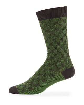 Ace & Everett Men's Thompson Two-Tone Socks