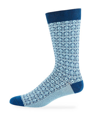 Ace & Everett Men's Stanton Two-Tone Socks