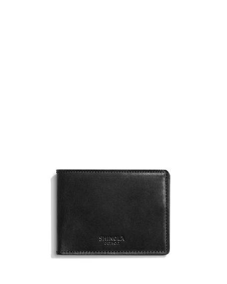 Shinola Men's Harness Slim Bifold Wallet