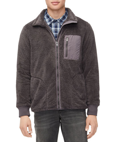 Men's Lucas Sherpa Zip-Front Jacket