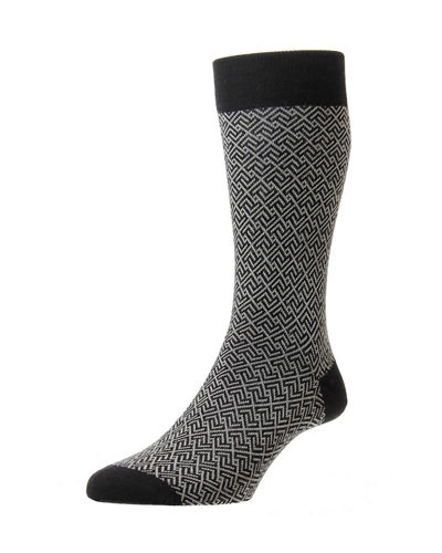Men's Porter Graphic Wool Socks
