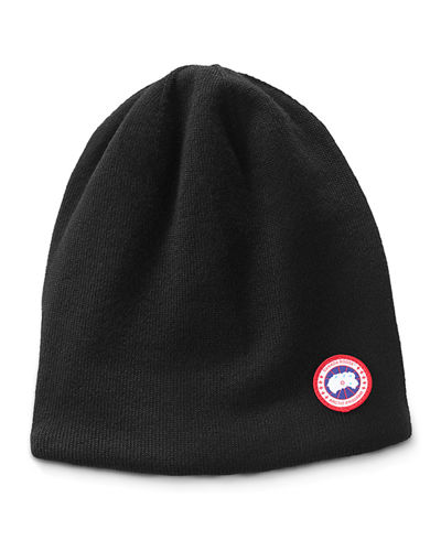 Men's Standard Logo Toque Winter Beanie Hat
