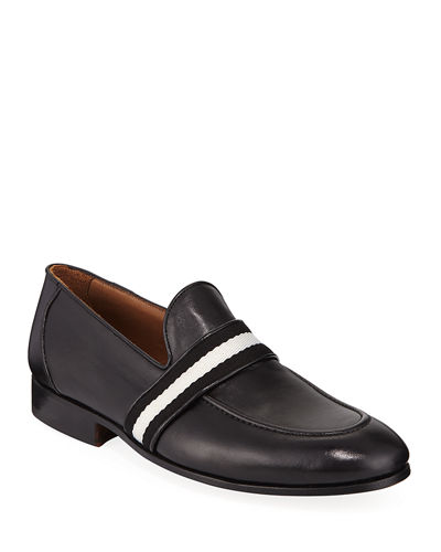 Men's Alvino Web Leather Loafer