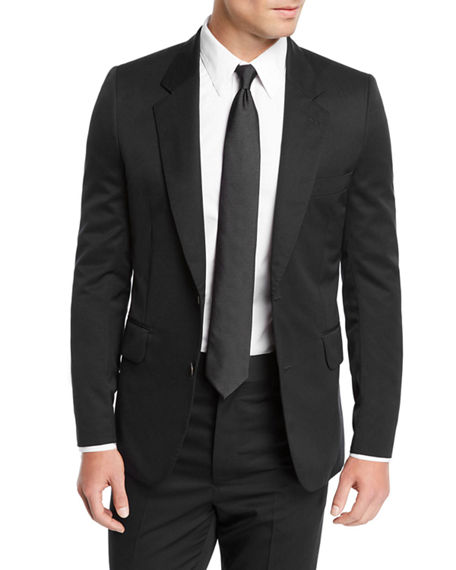 The Row MEN'S DAVID SINGLE-BREASTED TWO-PIECE WOOL SUIT